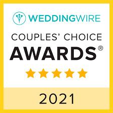 2021 Wedding Wire Couples Choice Award Winner